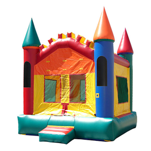 15 X 15Multi Castle inflatable bounce house moonwalk jumper moonbounce party Michigan Bounce House Rental