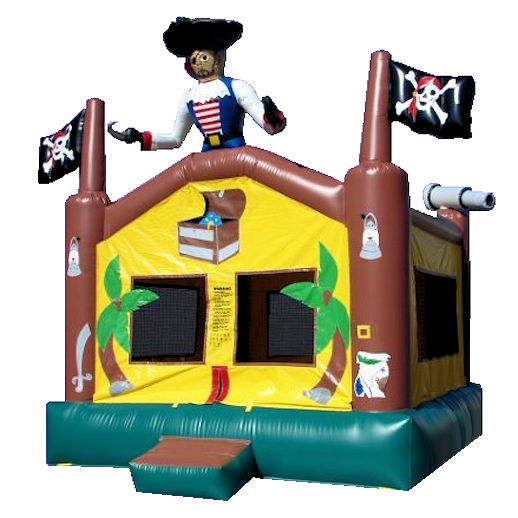 15 X 15 Pirate inflatable bounce house moonwalk jumper moonbounce party Michigan Bounce House Rental