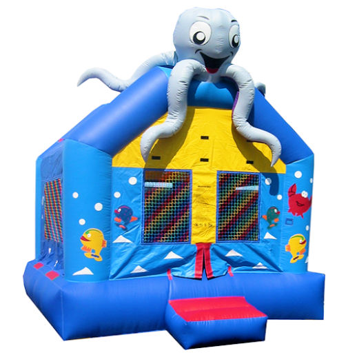 15 X 15 Sea World inflatable bounce house moonwalk jumper moonbounce party Michigan Bounce House Rental