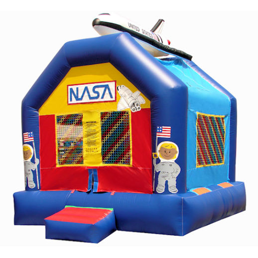 15 X 15 Space Shuttle inflatable bounce house moonwalk jumper moonbounce party Michigan Bounce House Rental