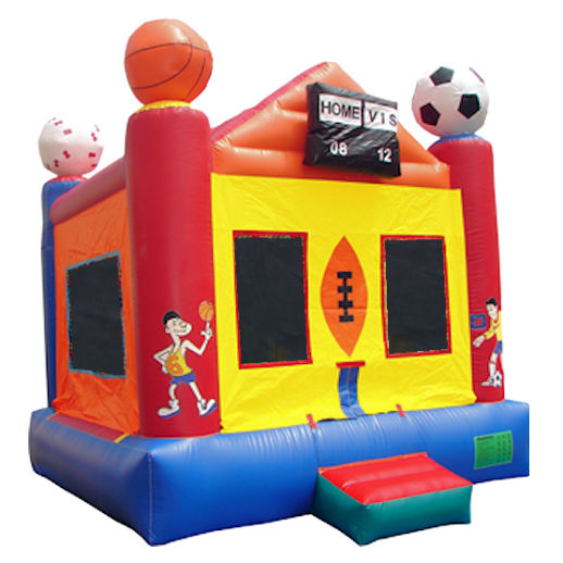 15 X 15 Sports Arena inflatable bounce house moonwalk jumper moonbounce party Michigan Bounce House Rental