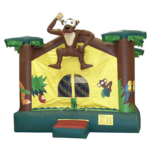 15 x 15 Jungle inflatable bounce house moonwalk moonbounce party rental michigan
