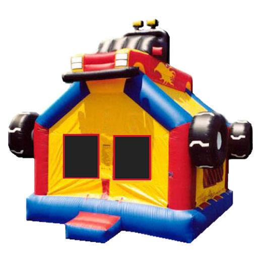 15 x 15 Monster Truck inflatable bounce house moonwalk jumper moonbounce party rental michigan