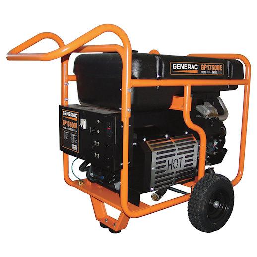 17500 watt generator electric start party rental michigan