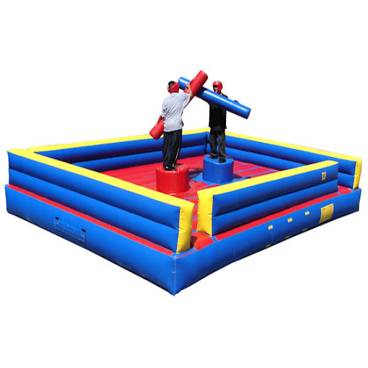 2 man joust inflatable interactive party rental michigan