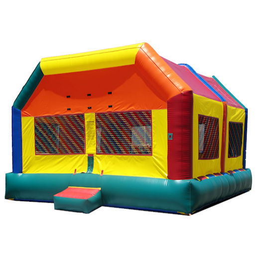 20 x 20 Fun House inflatable bounce house moonwalk party rental michigan