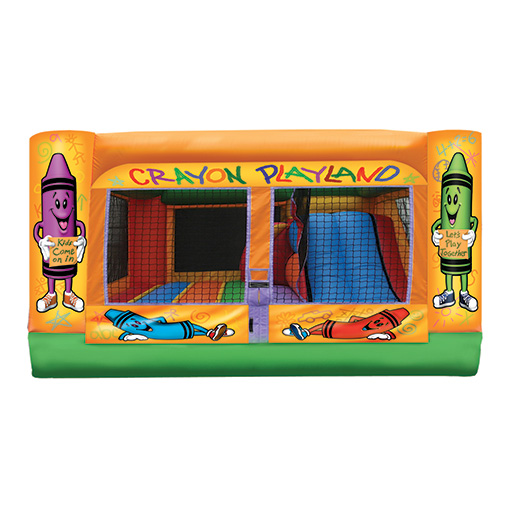 3 In 1 Mini Crayon Combo inflatable party rental michigan