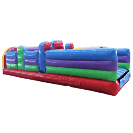 30 Foot 5 Element Inflatable Obstacle Course Rental Michigan
