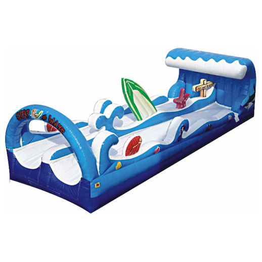 30' Surf the Wave inflatable water slide rental michigan