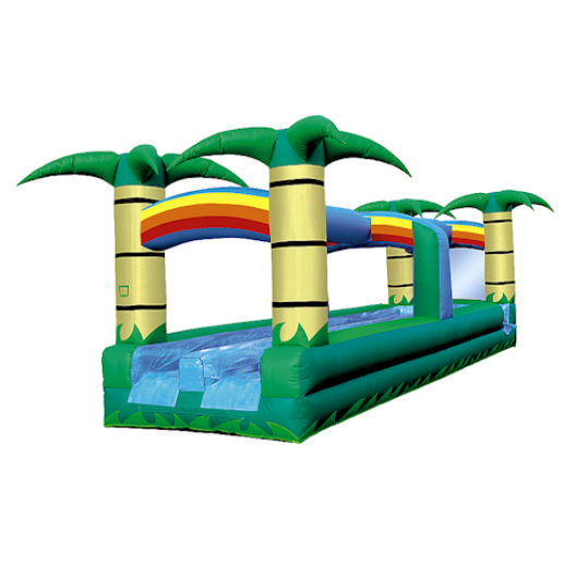 31' Tropical Hawaiian Dual Lane Slip n Slide