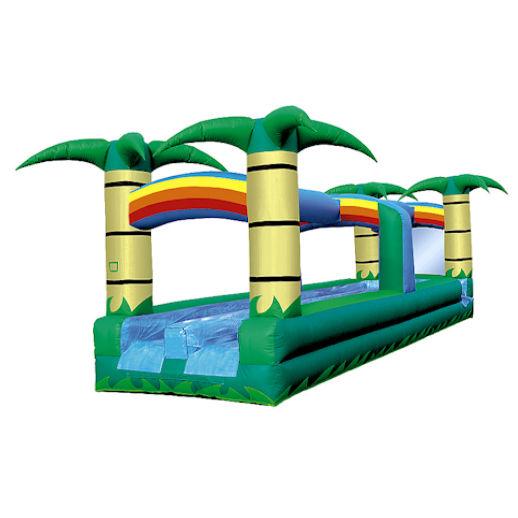 31' Tropical Hawaiian Dual Lane Slip n Slide