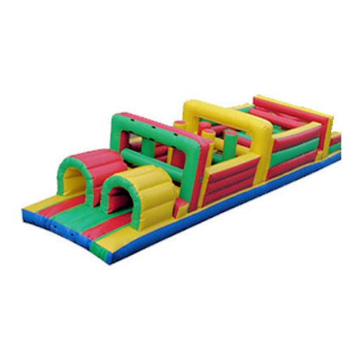 38 foot backyard inflatable obstacle game rental michigan