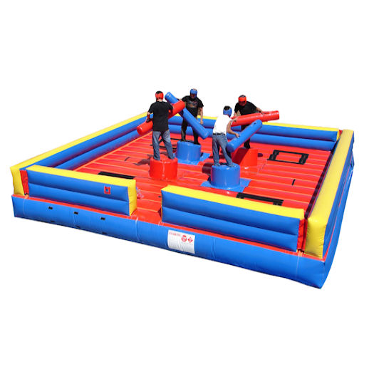 4 man joust inflatable interactive party rental michigan