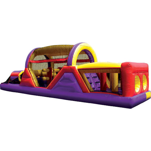 40 foot backyard inflatable obstacle course rental michigan