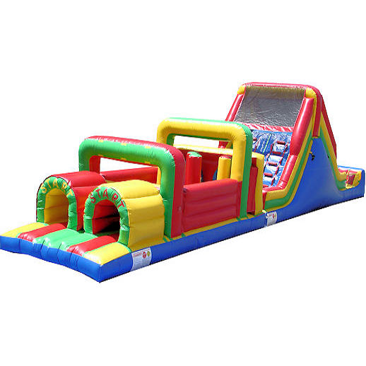 55 foot obstacle challenge inflatable obstacle course Party rental michigan