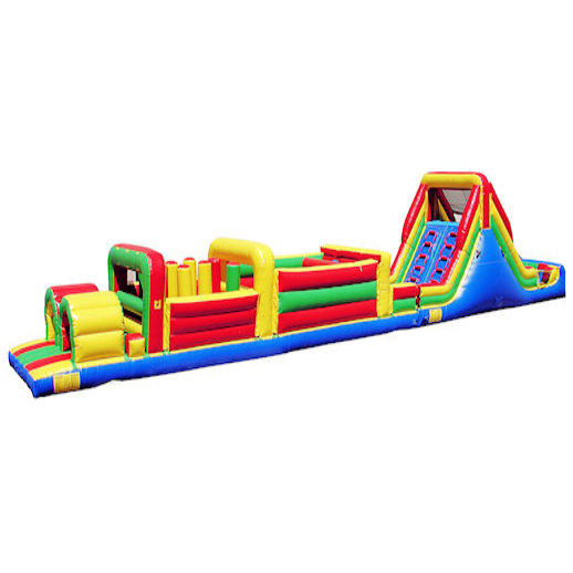 68 foot obstacle challenge inflatable obstacle course Party rental michigan