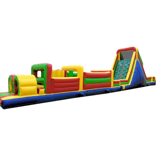 70 foot obstacle rockwall challenge inflatable obstacle Party rental michigan