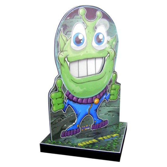 Alien Teeth Carnival Game