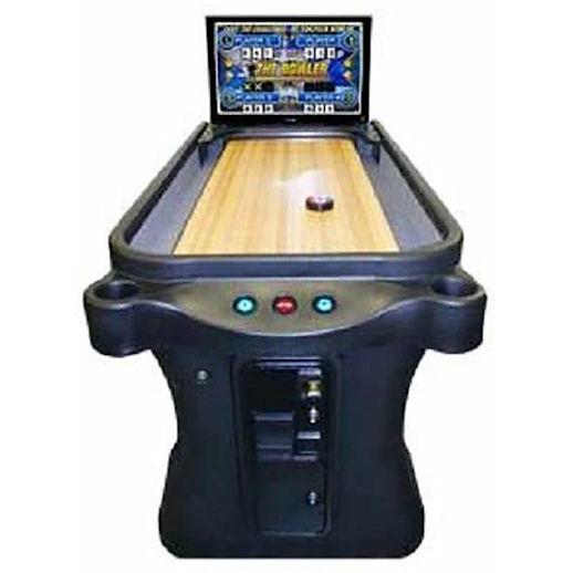 Arachnid Super Shuffle Arcade Shuffleboard Bowling Game Rental Michigan
