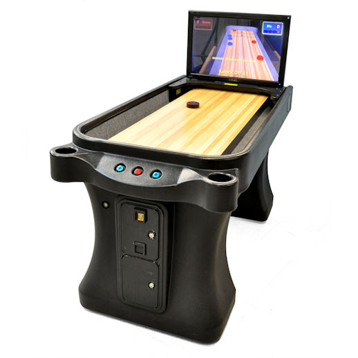 Arachnid Super Shuffle Arcade Shuffleboard Game Rental Michigan