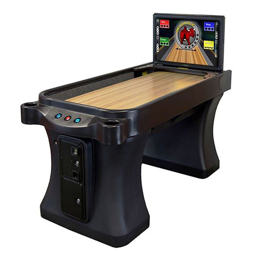 Arachnid Super Shuffle Shuffleboard Arcade Game Rental Michigan