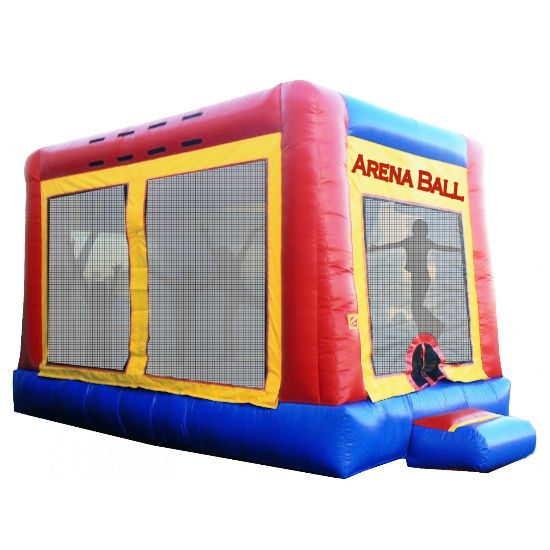 Arena Ball Interactive inflatable bounce house moonwalk party rental michigan
