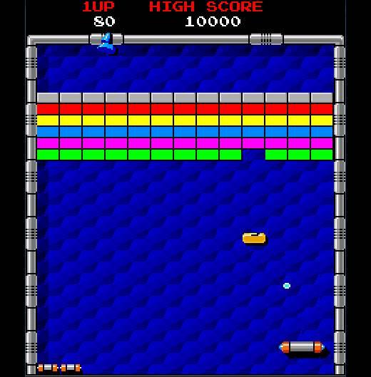 Arkanoid arcade game rental michigan