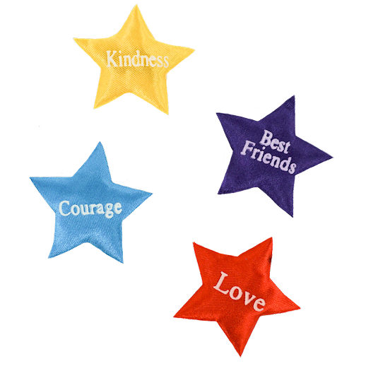 Assorted Stars Inserts build a bear