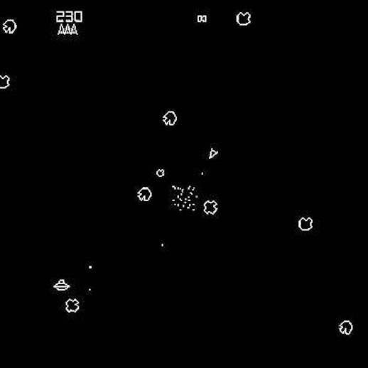 Asteroids arcade rental michigan