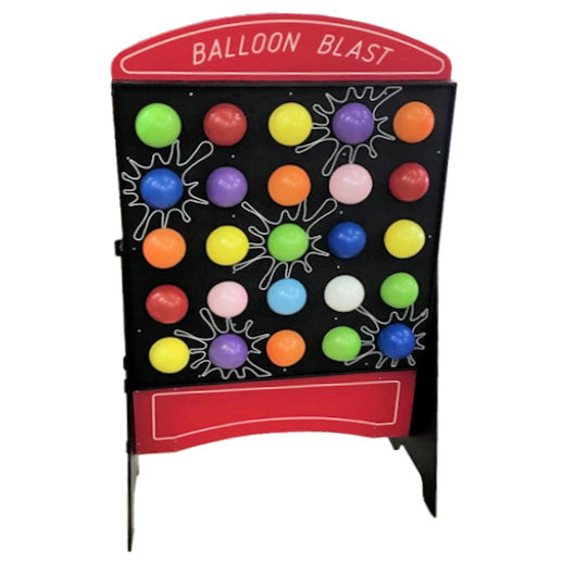 Balloon Blast Pop Carnival Game Rental Michigan
