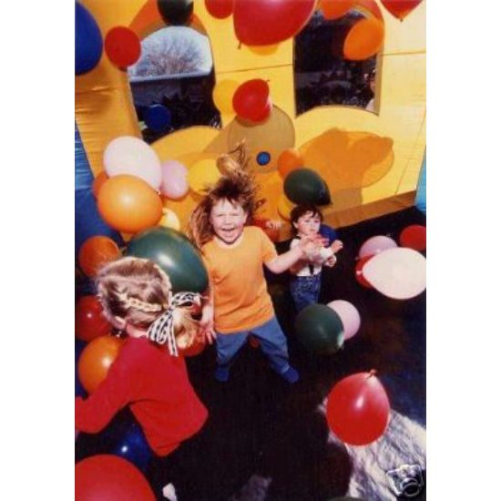 Balloon Typhoon carnival game michigan inflatable party rental michigan