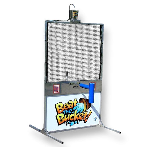 Beat the Bucket water dunk tank battle party rental michigan