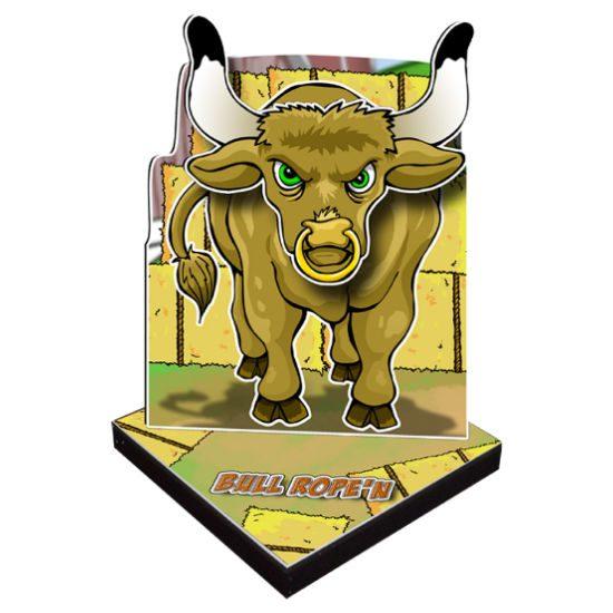 Bull Rope'n Carnival Game