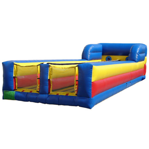 Bungee Run interactive inflatable bounce house moonwalk rental michigan