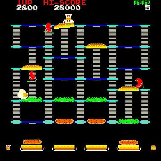 BurgerTime Screen