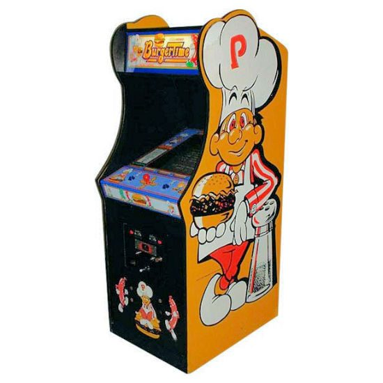 Burgertime Arcade Rental