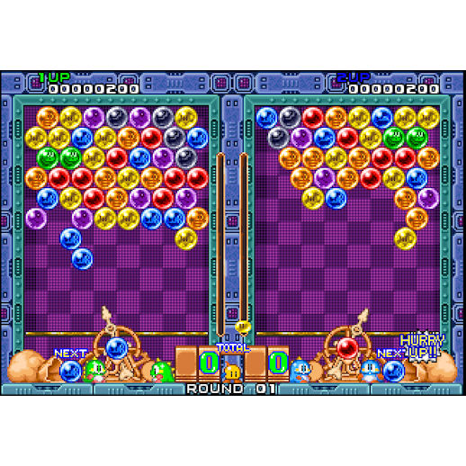 Bust A Move Puzzle Bobble Arcade Game Rental Michigan