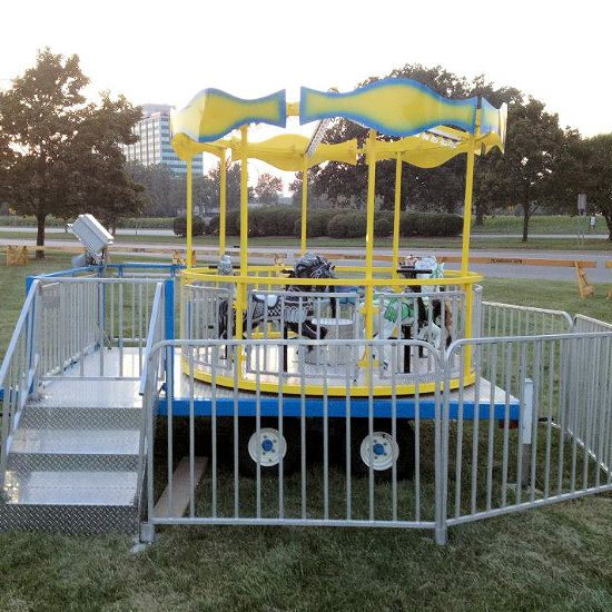 Carousel Carnival Ride rental michigan