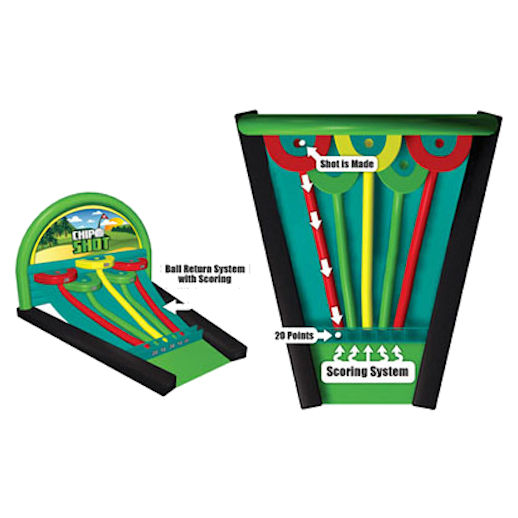 Chip_Shot Golf interactive inflatable caranival game rental michigan