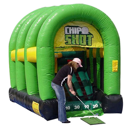 Chip_Shot interactive inflatable golf caranival game party rental michigan