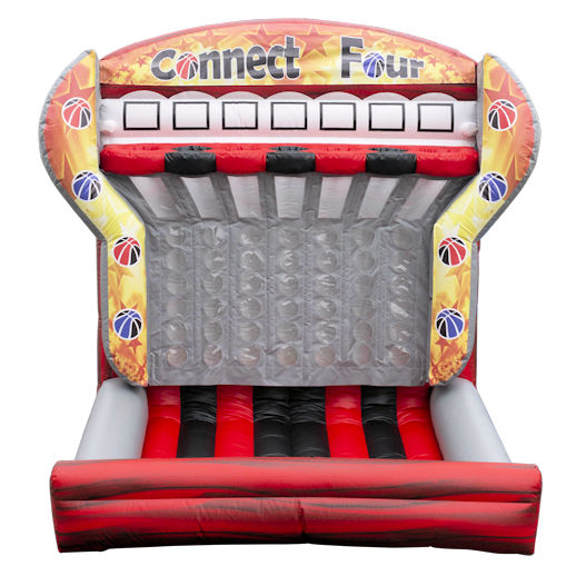Connect Four Shoot and score inflatable interactive basketball game renta michiganl