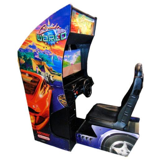 Cruis'n World Arcade driving game rental Michigan