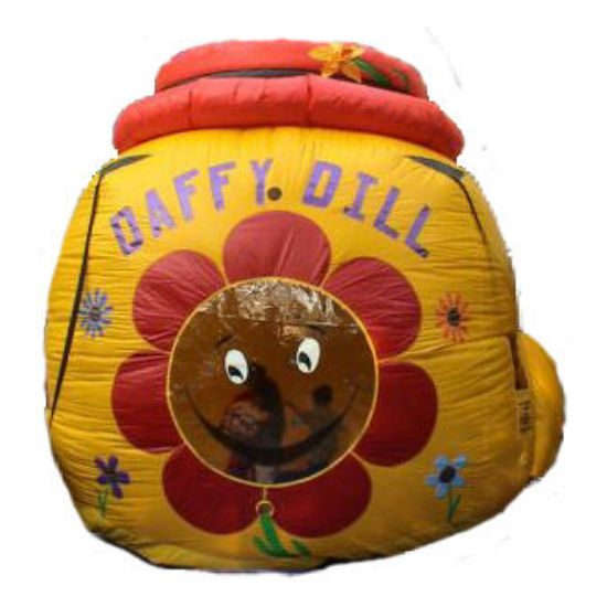 Daffy Dill Balloon Typhoon carnival game michigan inflatable party rental michigan