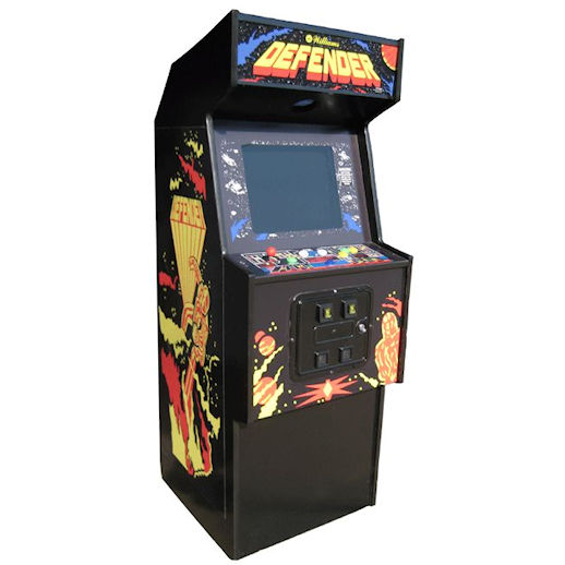 Defender Arcade game rental michigan