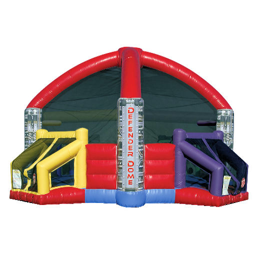 Defender Dome interactive inflatable dodge ball rental farmington hills bounce house moonwalk rental michigan