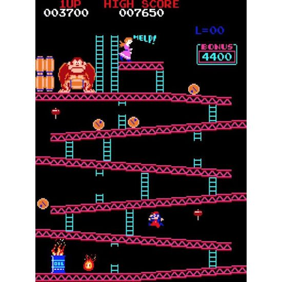 Donkey Kong Screen