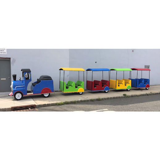 Electric Indoor Trackless Train Rental Michigan