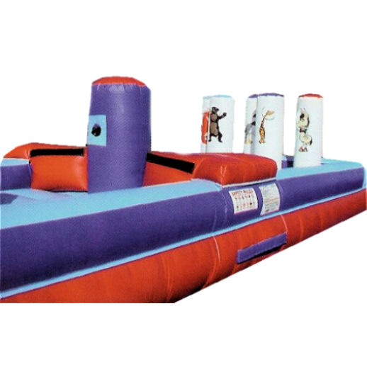 Face Off Bungee interactive inflatable bounce house moonwalk rental michigan