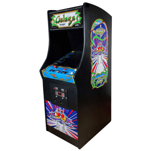Galaga Arcade Game Rental Michigan
