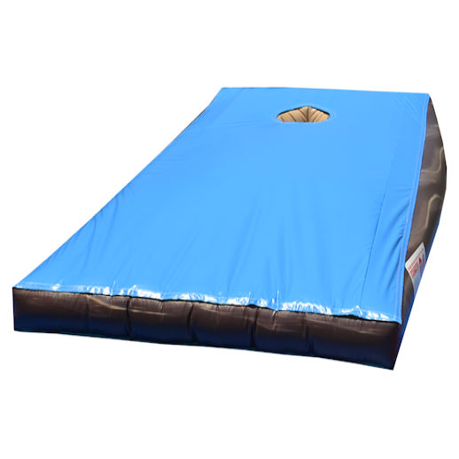 Giant Corn Hole CornHole Bags BeanBag inflatable interactive game rental michigan